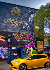 Les couleurs de Montréal - The colors of Montreal (Indydan) Tags: yellow canon catchycolors montréal montreal hats chapeau 7d hh 1785 hdr 2014 photomatix canonefs1785isusm henrihenri canoneos7d chapeliers henrihenrichapeliers hhchapeliers