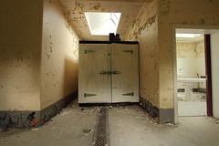 UK Morgue (scrappy nw) Tags: abandoned canon hospital dead death durham decay forgotten urbanexploration northeast derelict slab urbanexploring ue morgue urbex scrappy morguetable canon600d scrappynw