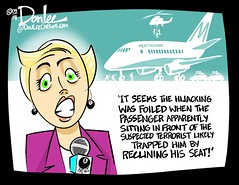 Seat squeeze cartoon (DSL art and photos) Tags: jets passengers airline recline crowding recliner airliner deregulation editorialcartoon donlee coachseats seatpitch