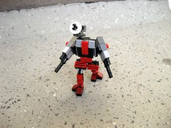 Clamber (Starflower.6) Tags: mobile lego frame mecha mfz