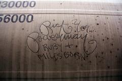 Rick Powerman (No Real Name Given.) Tags: train graffiti streak rick oil stick boxcar freight powerman moniker benching