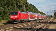 146127 on double deck RE service at Langwedel (37001 overseas) Tags: rail railway hannover db locomotive bremen deutschebahn regio langwedel 146127