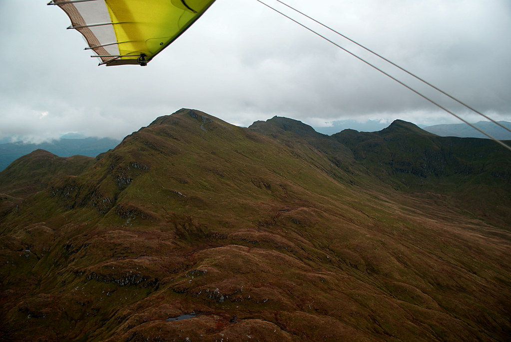 Passing by the Tarmachan Ridge by Ben Lawers