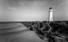 The breakers (A Crowe Photography) Tags: longexposure blackandwhite bw beach liverpool northwest wirral newbrighton sigma1020 newbrightonlighthouse longexposurephotography perchrock perchrocklighthouse flickrbw