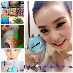#ครีมนางฟ้าเทพๆ Abalone Beauty Cream จากเกาหลี   http://hybeauty99.weebly.com  #ส่วนผสม หลัก  1.Abalone หอยเป๋าฮื้อ  2.Snail secretion Filtrate(เมือกหอยทาก จากกัมซาน แคว้นซุงนัม เกาหลี)ฮอตฮิตกันในตอนนี้ หน้าเงา เด้ง  3.คอลลาเจนจากปลาทะเลน้ำลึก  4.Trehalos