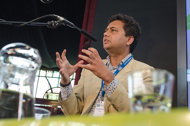 Neel Mukherjee spoke about his Man Booker Prize shortlisted novel The Lives of Others