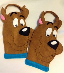 Scooby-Doo Trick or Treat Bags (LookHappyShop) Tags: dog halloween kids youth bag children costume trickortreat character cartoon felt loot scoobydoo scooby