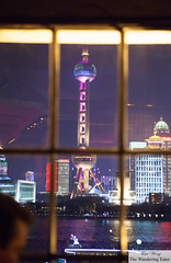 Looking toward the Oriental Pearl Tower (thewanderingeater) Tags: china bar shanghai cocktails thebund mglamourbar