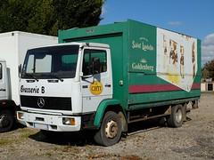 MERCEDES 1314 Brasseur (xavnco2) Tags: france beer truck advertising mercedes lorry camion mercedesbenz delivery trucks bier werbung publicit chti bire picardie boissons lkw autocarro porteur 1314 livraison brasseur