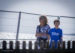A Walk With Mum (Twistedreload) Tags: street uk sea portrait england people sun streets colour men london photography photo seaside nikon women candid streetphotography beaches milford photoart streetportraits d3100 streettogs