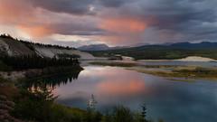 Late Evening Showers on Cap Ridge (kdee64) Tags: summer evening yukon showers whitehorse yukonriver northerncanada eveningtwilight capridge