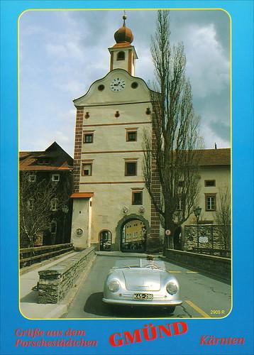 2905 R Porche Automuseum Helmut Pfeifhofer Gmünd 6.I.2003. Kärnten Austria