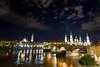 Zaragoza (Blaubeeerkuchen) Tags: bridge night spain nikon catedral zaragoza zaragossa top20bridges d5300