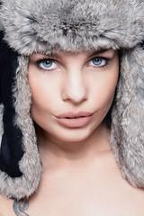 Rose Bleue (patdebaz) Tags: portrait woman sexy beautiful rose studio glamour nikon femme charm oeil yeux bleu brune bleue charme d800