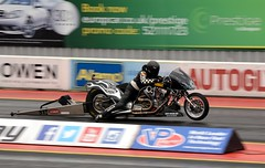 Supertwin (Fast an' Bulbous) Tags: england bike race speed drag nikon europe track power gimp fast september strip fim motorcycle launch euros dragbike qualifying acceleration d7100 eurofinals