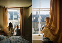 (Bazzerio) Tags: life family light holiday love film window 35mm vintage joseph real women child natural kodak grain documentary warmth boyhood portra shared hapiness 2014 bazzerio