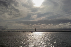 Statua della Libert. (fabio.kimi) Tags: new york trip usa holiday statue ferry liberty island boat della statua viaggio vacanza libert