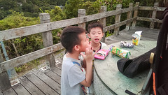 IMAG8322 (JIMI_lin) Tags: sunset 101 taipei 信義區 觀音山 大冒險 虎山峰