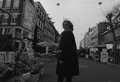 (Meet Street Candid) Tags: street blackandwhite bw woman white black holland amsterdam you candid empty streetphotography netherland another streetshoot albertcoupstraat placehuman