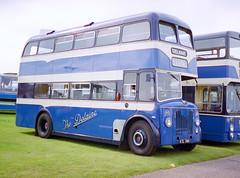 Delaine KTL780 Showbus 2000 (The original SimonB) Tags: film buses 2000 transport september scanned duxford cambridgeshire iwm showbus