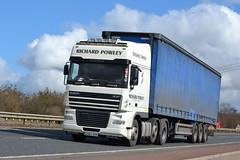 DAF XF 105 'Richard Powley' reg CN54 BWB (erfmike51) Tags: lorry artic curtainside dafxf105 richardpowley