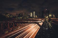 New York City (tinto) Tags: 28mm fuji fujifilm fujilove fujix100t fujixseries mirrorless newyork nyc tintography vsco vscofilm wclx100 wideangel x100t longexposure night lights trails brooklyn bride manhattan