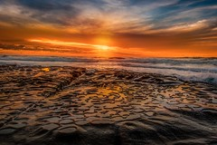 End Of Days (EricGail_AdventureInFineArtPhotography) Tags: lajolla potholes sunset sandiego canon beach