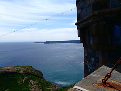 The Atlantic from Signal Hill (the factory wall) Tags: signalhill atlantic ocean stjohns newfoundland cans2s