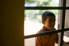 (www.dbuttifant.com/) Tags: fuji fujifilm xseries xpro1 35mm 14 street portrait window school bars nepal travel education