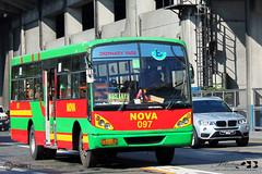 Nova Auto Transport, Inc. - 097 (Blackrose917_0051 - [INACTIVE ACCOUNT]) Tags: philbes philippine bus enthusiasts society santarosa motor works metrostar nova auto transport 097 nissan diesel cpb87n fe6b