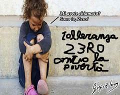 Anche i bambini poveri sono tollerati in società (satira-italia) Tags: bambini poveri povertà minorile
