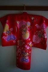 (My daughter's kimono:Japanese dress) (TeiQ) Tags: leica baby japan clothes kimono summilux leicam8