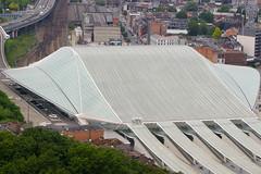 Gare des Guillemins - Lige (2014) (LiveFromLiege) Tags: lige liege gare des guillemins calatrava sncb rail railway station architecture luik lttich liegi lieja train wallonie belgique belgium