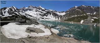 ----- IL DISGELO ----- 10.06.2014 Lago Serrù  2275 mt s.l.m. -- Ceresole Reale