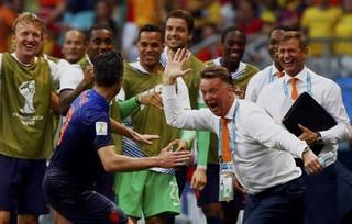 世界杯-范加尔治下 荷兰困兽终出笼