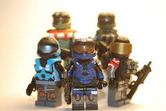 Halo Reach Noble Team (bobcabob_diw) Tags: kat halo jorge carter reach emile jun brickforge tinytactical brickwarriors