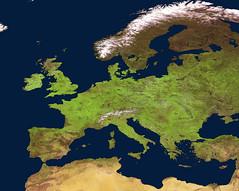Springtime in Europe (europeanspaceagency) Tags: europe satellite esa earthobservation probav