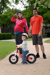 Rodinka bikerů :) (Tomáš Pastorek) Tags: maternity motherhood ontheway