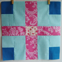 June OPGiveWarmth 2 (Marci Girl Designs) Tags: two sewing more quilting seconds quiltblock promisecircle beeblocks dogoodstitches opgivewarmth nohatsinthehouse