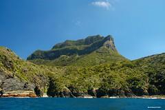 Back of Mt Lidgbird - Lord Howe Island Circumnavigation (Black Diamond Images) Tags: mountains island boat paradise australia cliffs nsw boattrip circumnavigation lordhoweisland worldheritagearea thelastparadise circleislandboattour