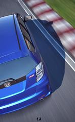 A Car Fit for Racing (AlcyoneSVX) Tags: honda gran turismo fit tsukuba granturismo fitrs granturismo6