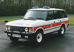 MOD Police Armoured Range Rover (xjr45) Tags: mod police rangerover armoured mdp