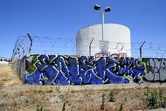 SNEK (STILSAYN) Tags: california graffiti oakland bay east area amc 2014 snek wkt