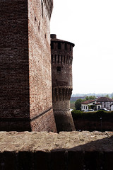 Soncino - scorcio (Dama Arwen) Tags: torre castello rocca soncino