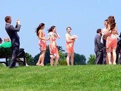 Belle Isle Views (Bob Ponder Photography) Tags: statepark wedding summer fountain river outdoors detroit parks weddingparty jamesscottmemorialfountain