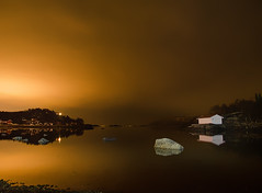 Bjerkvik (Ole Martin Krokstrand) Tags: light seascape pollution narvik naust bjerkvik by1