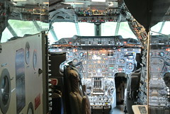 Crikey, that's a lot of buttons! (XCountry Photographer) Tags: plane aircraft aviation jet concorde britishairways airliner supersonic mach2 mach1 jetage civilaviation gbbdg supersonicjet flightcabin concordegbbdg