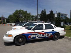 Halton Regional Police (car show buff1) Tags: rescue ontario canada ford mobile downtown muscle tahoe police victoria chevy dodge crown squad incident region command regional charger pursuit oakville 2012 interceptor opp caprice ppv halton