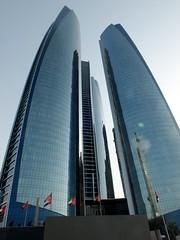 Etihad Towers ( ), Abu Dhabi () (twiga_swala) Tags: architecture modern buildings hotel skyscrapers united towers uae emirates abudhabi arab highrise abu dhabi jumeirah   dabi etihad