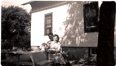 "summer 1948 Aunt Marie-s - Dad-s aunt • <a style=""font-size:0.8em;"" href=""http://www.flickr.com/photos/42153737@N06/14572702834/"" target=""_blank"">View on Flickr</a>"